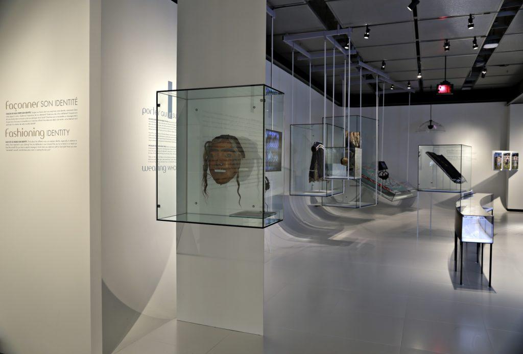 Porter l'identité, exposition permanente de la collection Les Premiers Peuples au Musée McCord